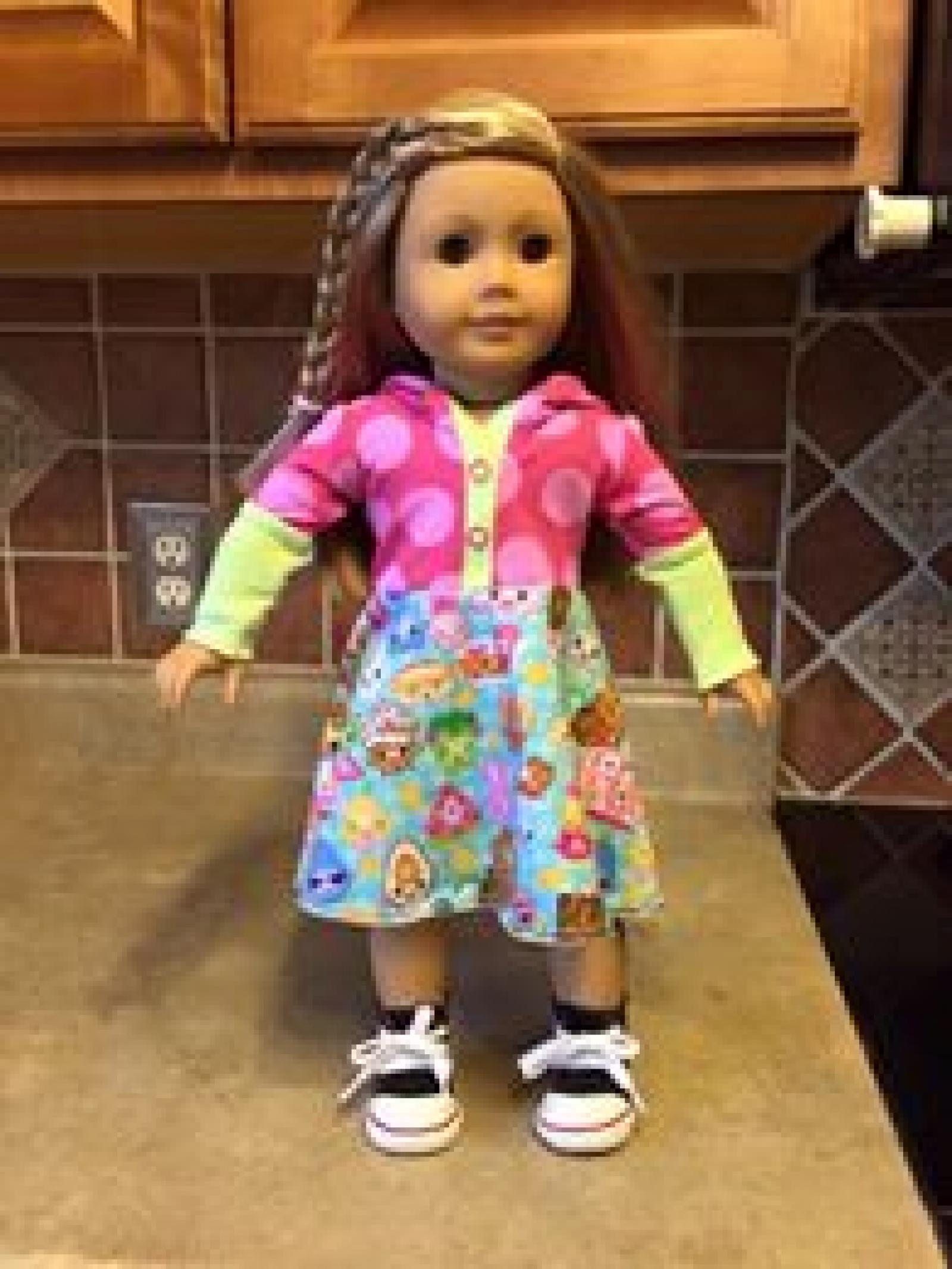 Lyra Hooded Dress Doll Pdf Pattern Doll Add On Elliedactyl